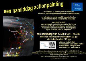 flyer actionpaintingzonder data