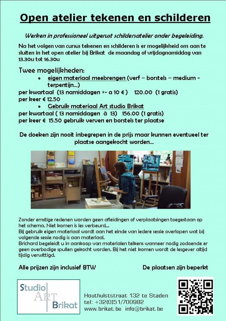open atelier schilderen