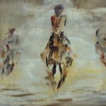 riders on the storm 120x60 cm